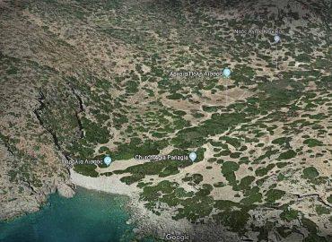 Άποψη της αρχαίας Λισού